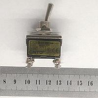 Тумблер 2 положения с фиксацией 15А 4 контакта, фото 1