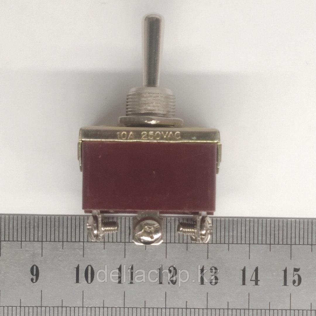 Тумблер 3 положения с фиксацией 15А 6 контакта
