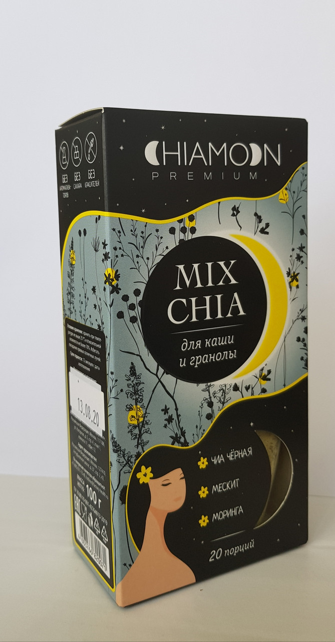 CHIAMOON MIX CHIA Для каши и гранолы ,100 гр