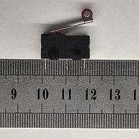 Концевой выключатель 20х10х6мм, колесо на планке SM5-05N, фото 1