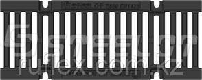 Решётка на канал чугунная щелевая , длина -500 мм, высота 14 мм, ширина 136 мм тел.WhatsApp + 7 701 100 08 59