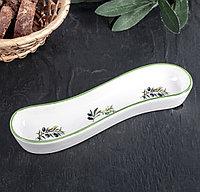Блюдо для оливок/солений «Олива», 20×5×3,5 см, фото 1