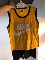 Nike двойка оранжевая для мальчиков, фото 1