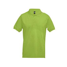 Рубашка поло мужская Adam, зеленая XL.