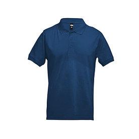 Рубашка поло мужская Adam, синяя.M