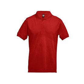 Рубашка поло мужская Adam, красная, XL