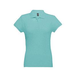 Рубашка поло женская Eve, голубая, S