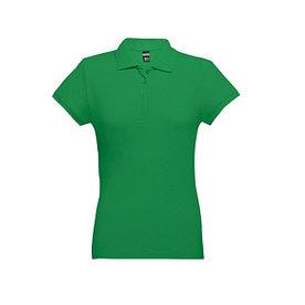 Рубашка поло женская Eve, зеленая, M