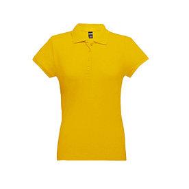 Рубашка поло женская Eve, желтая, S