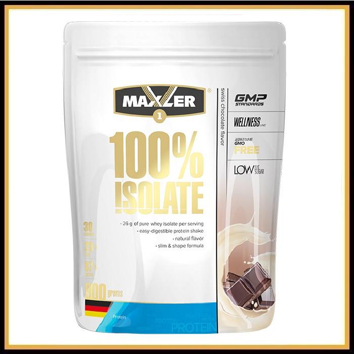 Maxler Isolate 900гр (клубника)