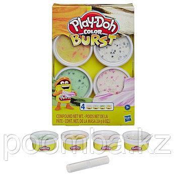 Play Doh Набор пластилина Взрыв цвета - Масса для лепки Плей До