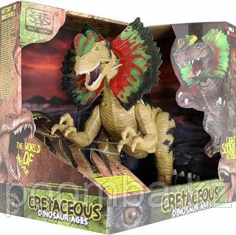 """Динозавр """"Дилофозавр"""", световые и звуковые эффекты"""