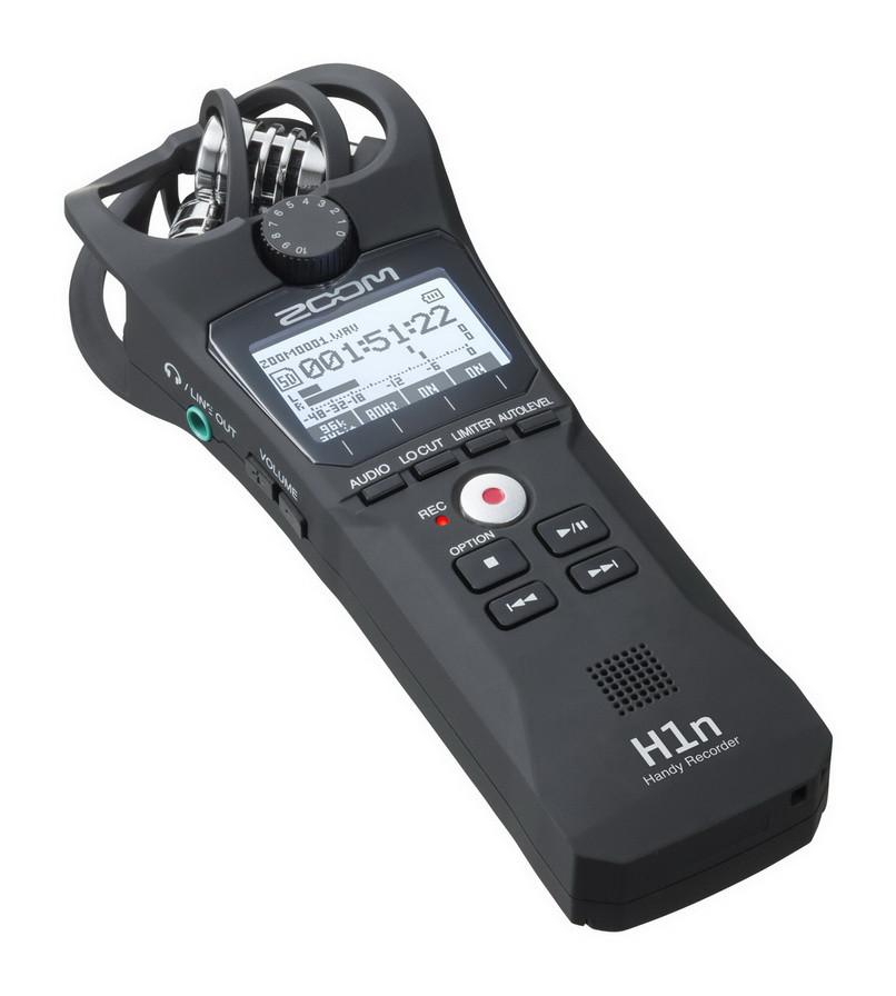 Многофункциональный портативный аудио рекордер Zoom H1n - фото 3