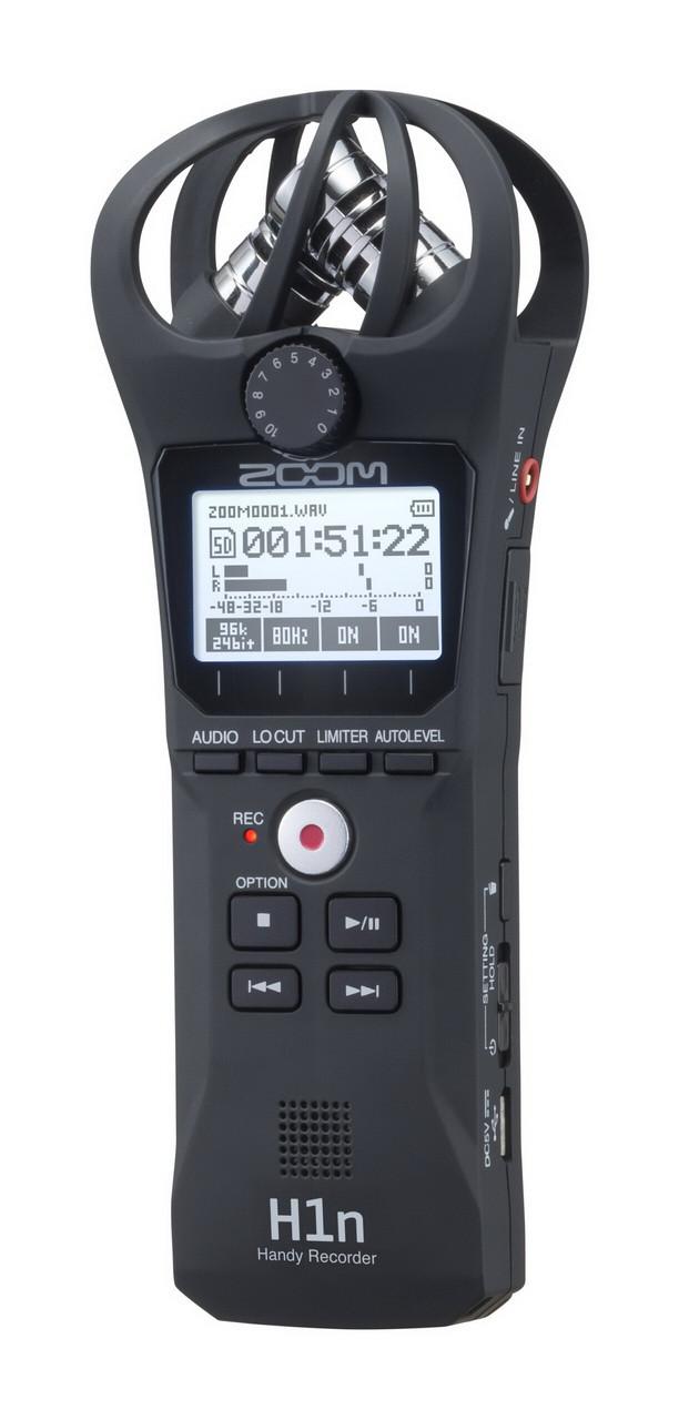 Многофункциональный портативный аудио рекордер Zoom H1n - фото 1