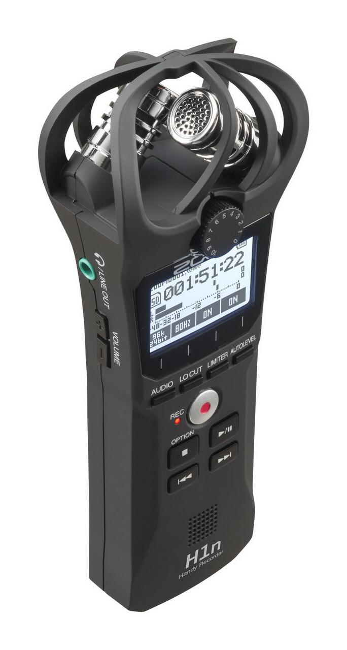 Многофункциональный портативный аудио рекордер Zoom H1n - фото 2