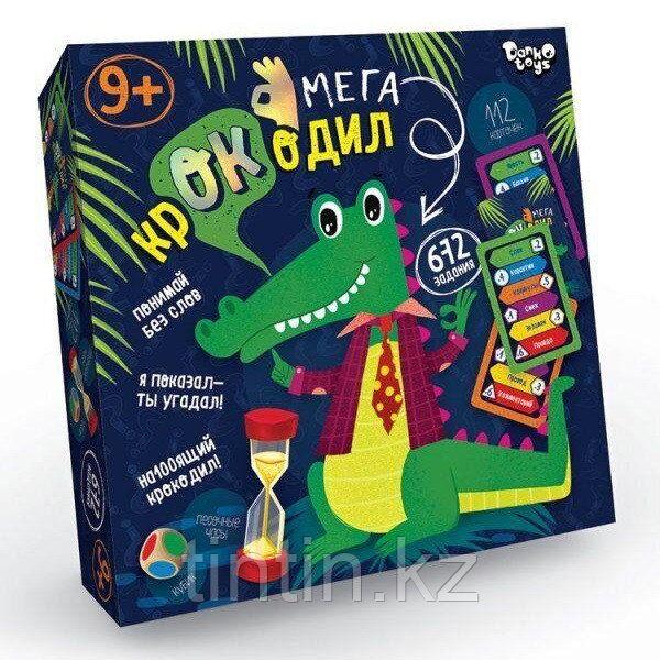Настольная игра «Мега-крокодил»