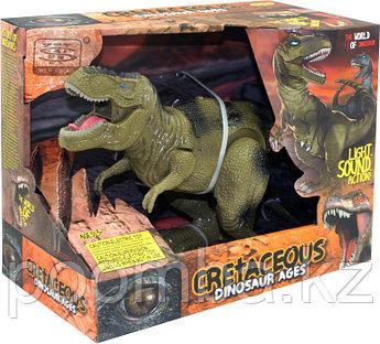 """Динозавр """"Тиранозавр"""", световые и звуковые эффекты"""