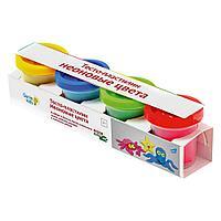 Тесто-пластилин Неоновые цвета детский набор для лепки Genio Kids