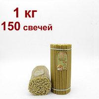 Восковые свечи Душистая поляна горят 1.20 мин от 42 тг .Длина свечи 205мм, фото 1