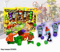 "Набор фигурок растения против зомби ""Plants vs zombies"" (8 фигурок, 6 шариков для метания) No:130-20"