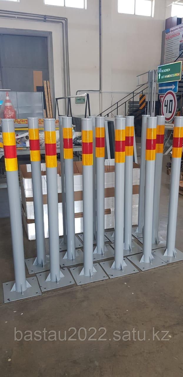 Парковочный столбик металлический