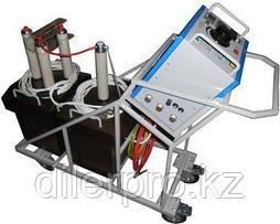 СНЧ + АИД-40 - высоковольтная установка для проведения испытаний твердых диэлектриков