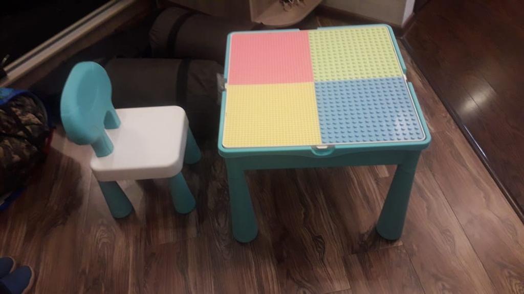 Столик для игр с конструктором 7803