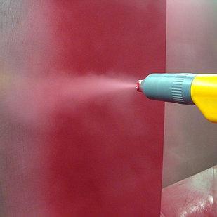 Покраска полимерной краской