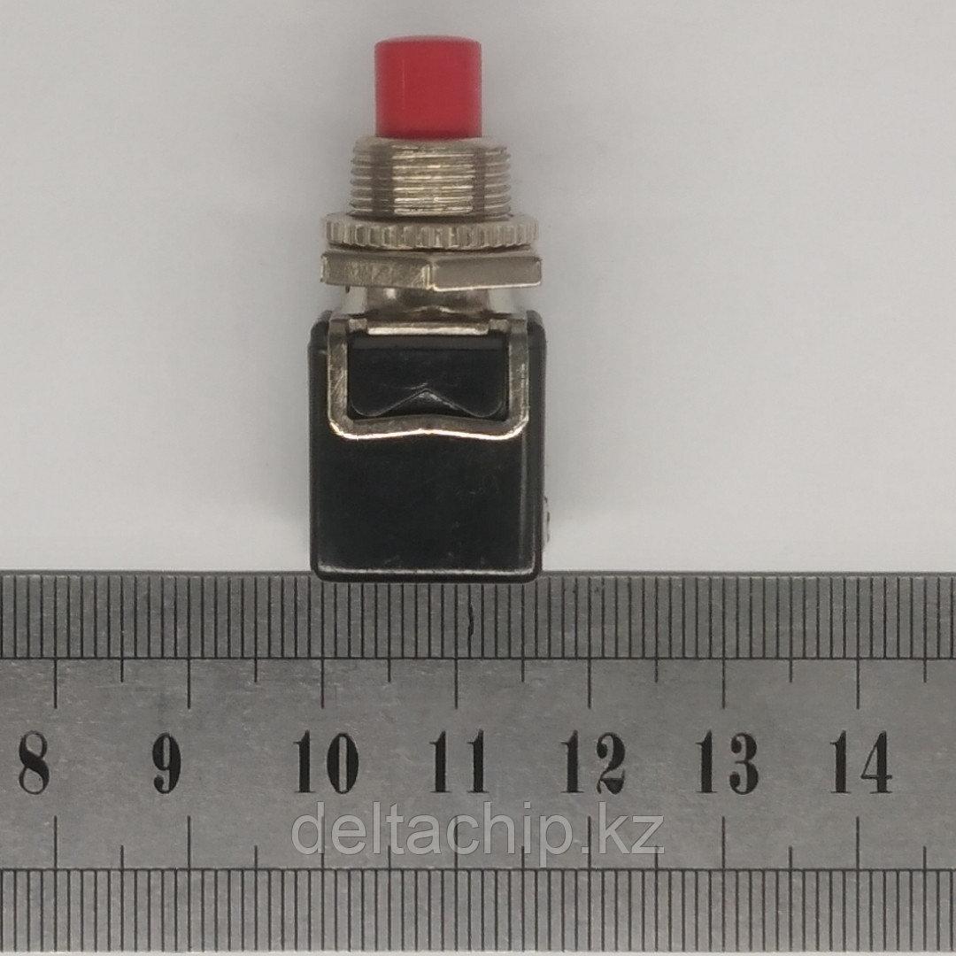 Кнопка Ф12мм 1NO 5A (3c)