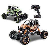 Cross Country: 1:14 р\у машина High Wheel зеленый\оранжевый в асс.
