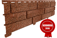 Акриловая Фасадная панель STONE HOUSE (Стоун Хаус) под кирпич, Красный