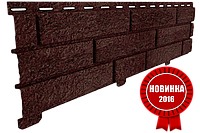 Акриловая Фасадная панель STONE HOUSE (Стоун Хаус) под кирпич, Коричневый