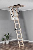 Лестница деревянная раскладная OMAN COMPACT TERMO 55х100х280см Польша