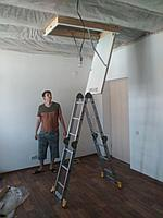 Монтаж чердачных лестниц тел. Whats Upp. 87776574722