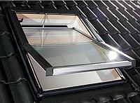 Мансардное окно 78х160  FAKRO (в комплектес окладом на металлочерепицу, профлист) тел. WhatsUpp.87075705151
