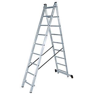Лестница алюминиевая двухсекционная ЛА 2х7 Вихрь
