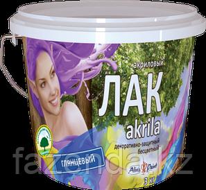 Лак акриловый глянцевый  Akrila 1 кг