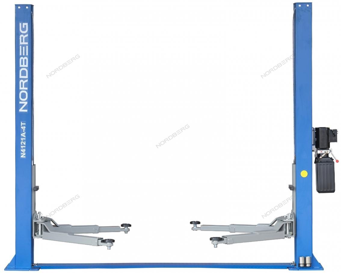 Подъемник двухстоечный, г/п 4т (220В) NORDBERG