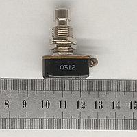 Кнопка ножная без фиксации в отверстие Ф12мм 3А, фото 1