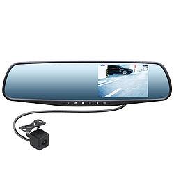 Зеркало-видеорегистратор Swat VDR-4U с камерой заднего вида