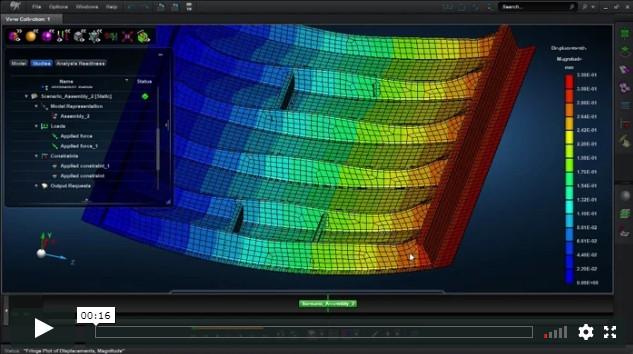 MSC Apex Structures Структурный анализ конструкции на основе технологии Расчетных Компонентов Деталей и Сборок