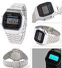 Электронные наручные часы Casio A-168WA-1. Оригинал 100%. Классика. Kaspi RED. Рассрочка, фото 3
