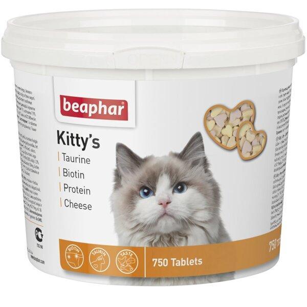 Кормовая добавка Kitty's Mix для кошек 750табл