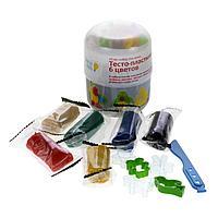 Мини-набор для лепки «Тесто-пластилин 6 цветов» от GENIO KIDS