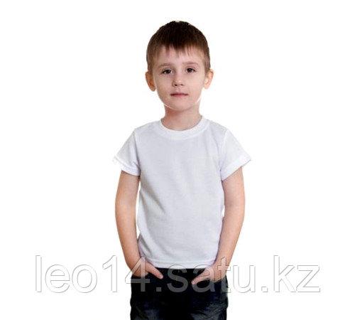 "Футболка детская, для сублимации Прима-Cool and Dry ""Fashion kid"" цвет: белый, размер: 26(104)"