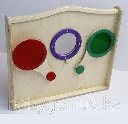 Панель для игровых зон Цветные стеклышки