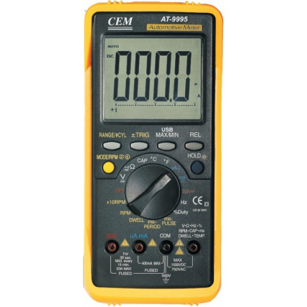 CEM AT-9995E Профессиональный автомобильный мультиметр