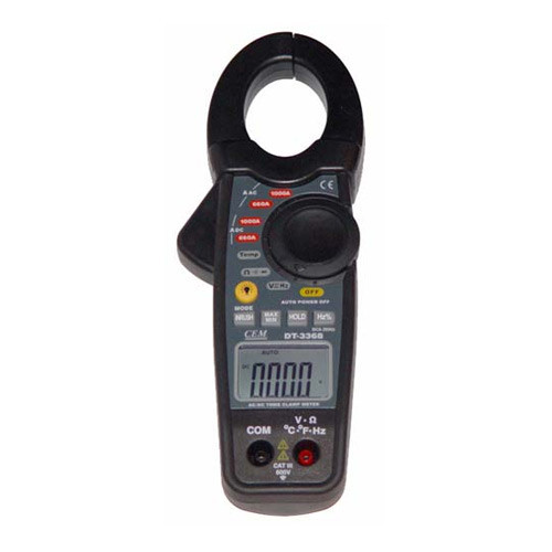CEM DT-3368 Профессиональные токовые клещи для измерения             постоянного и переменного тока.