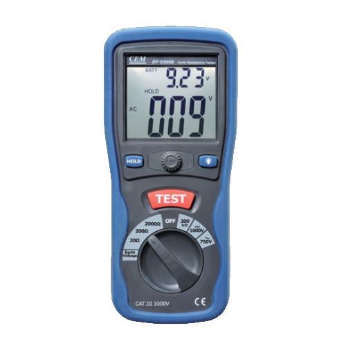 CEM DT-5300B измеритель сопротивления заземления