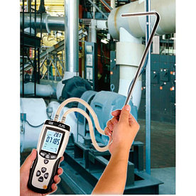CEM DT-8920 измеритель давления и расхода, трубка ПИТО